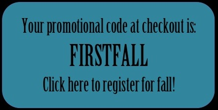 first fall promo code button