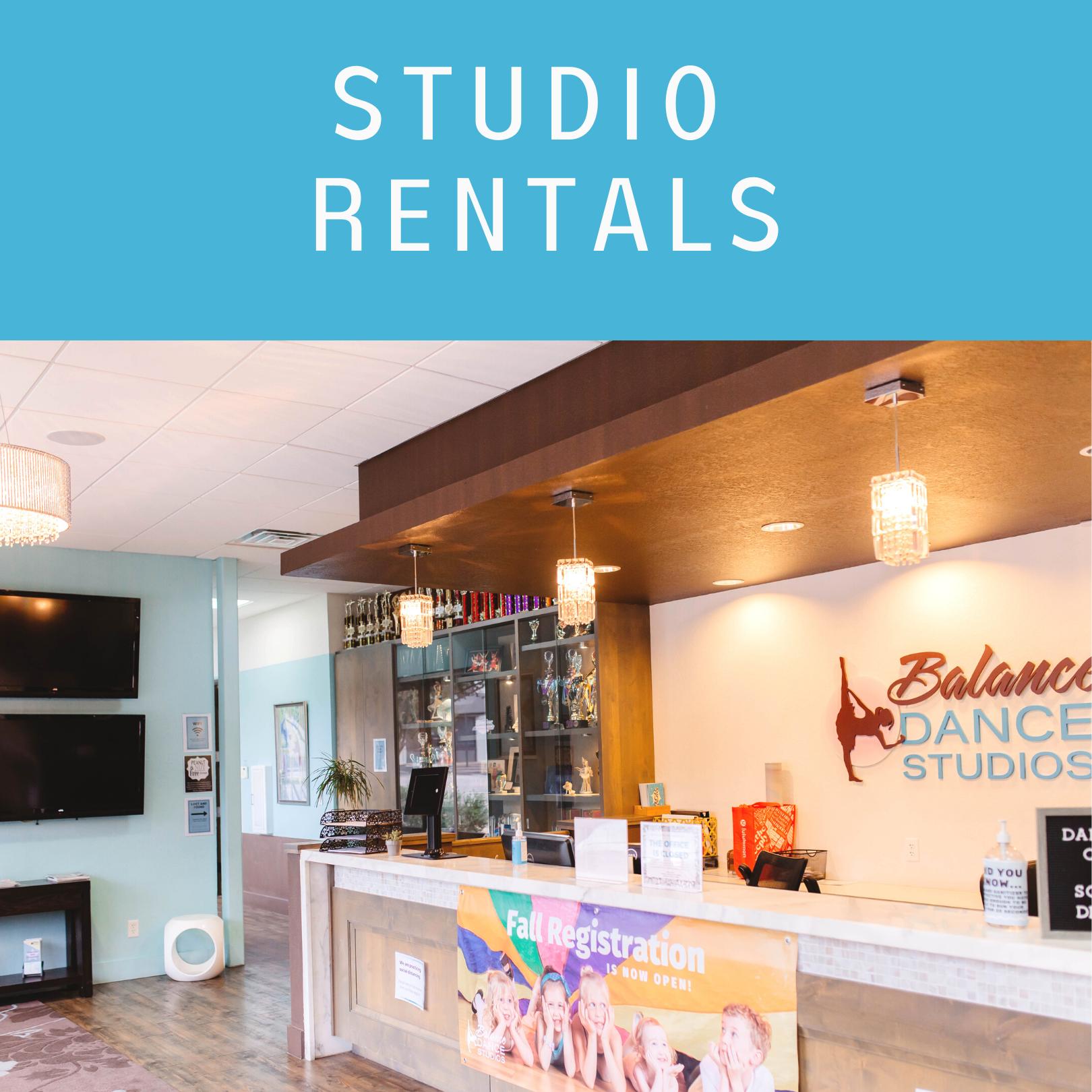 Dance Studio Rentals